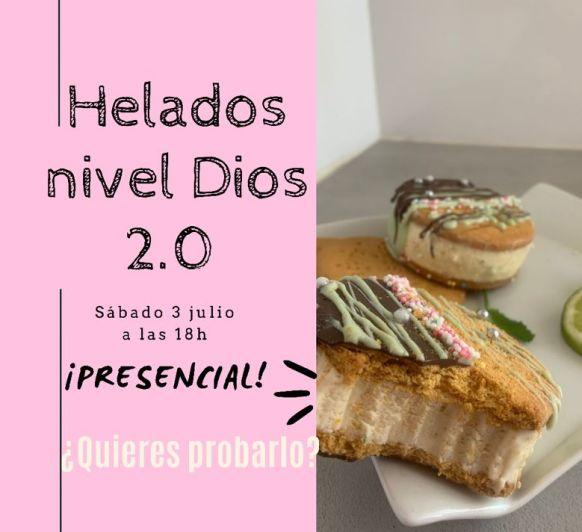 Clase de Helados Presencial (Nivel Dios 2.0)