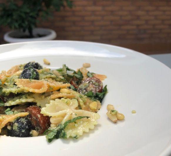 Ensalada de pasta con Pesto