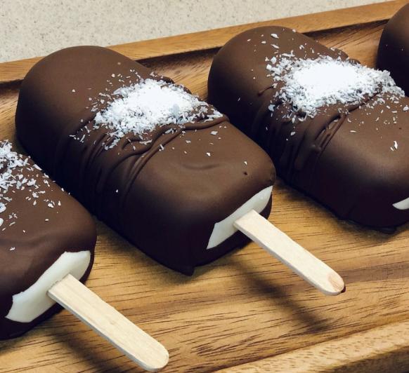El mejor helado de coco