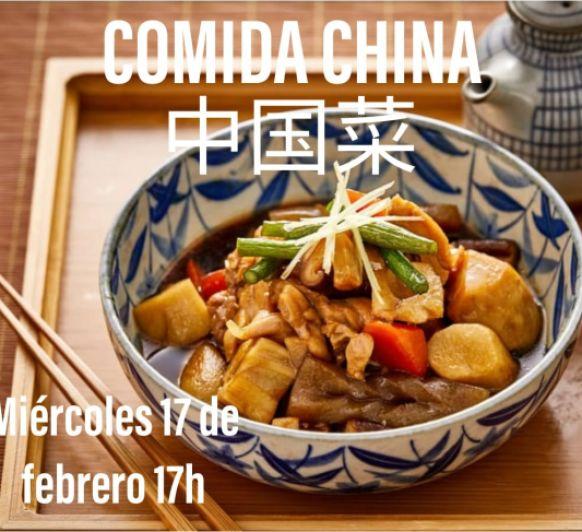 clases de cocina con recetas en chino